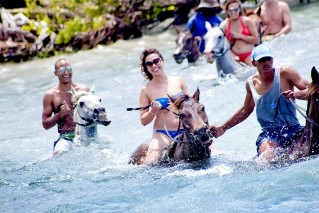 Luminous Lagoon, Dunns River Falls and Horse Back Riding